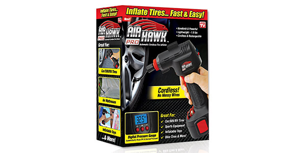 ONTEL Air Hawk Pro Automatic Cordless Tire Inflator