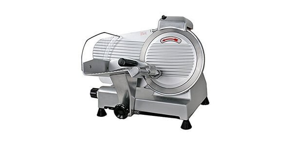 Super Deal Commercial Stainless Steel Semi-Auto Meat Slicer