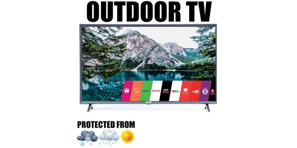 SEALOC Outdoor Tv Full-Weatherised 43inches