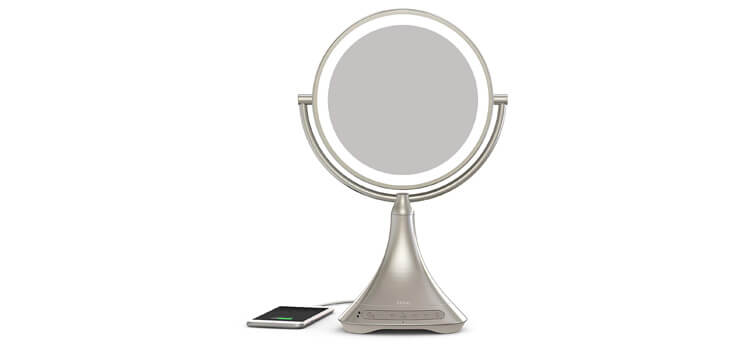 iHome All-In-One Mirror