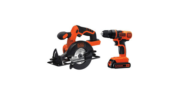 BLACK+DECKER 20V MAX Drill/Driver Circular Saw