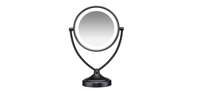 Conair Natural Daylight Double-Sided Lighted Makeup Mirror