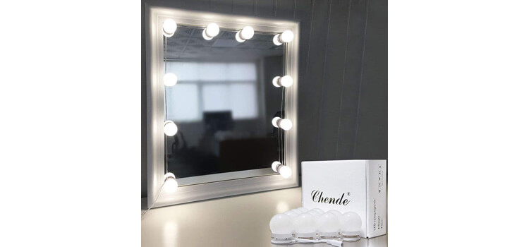 Chende Hollywood Style LED Vanity Mirror
