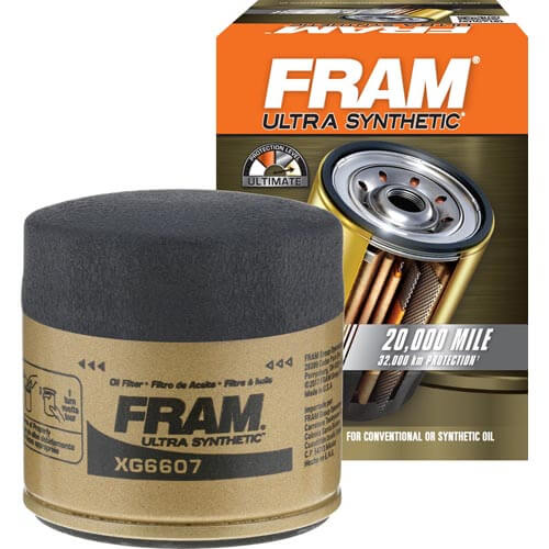 FRAM XG6607 Ultra Synthetic Spin On Oil Filter with SureGrip